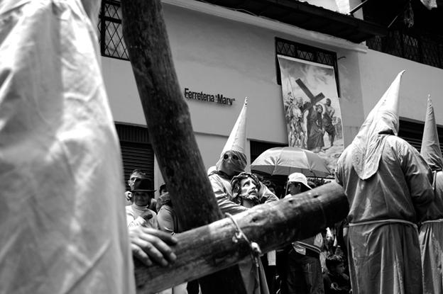 Procesión de viernes santo, Quito, Ecuador, 2010